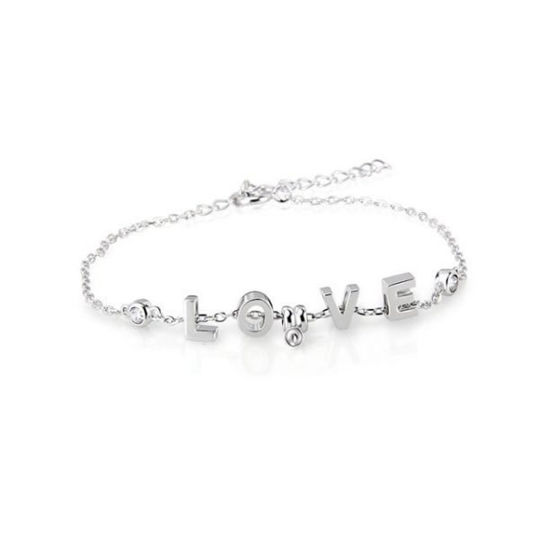 fdc4bf5a56c Sterling Silver LOVE Bracelet - Pearl Poppin  with Keri